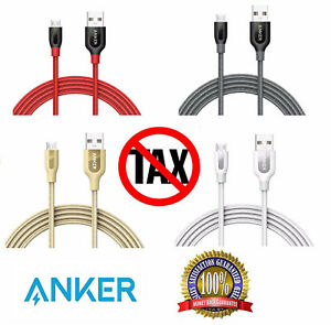 NEW Original Anker Micro USB Multi Type C Lightning Micro USB C 3.0 2.0 Cable