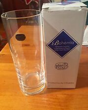 Bohemia Crystalex Clear Vase Product Number 82502/190mm Made In Czech Republic