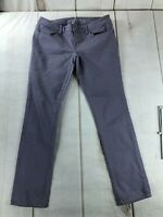 American Eagle Womens 10 Skinny Stretch Jeggings CottonBlend Low Rise Jeans Gray