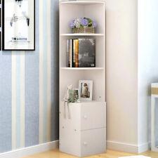 White Cube Bookshelf Bookcase Cabinet 2 Door Storage Shelving Display Book Shelf