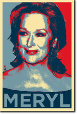 MERYL STREEP ART PHOTO PRINT (OBAMA HOPE) POSTER GIFT