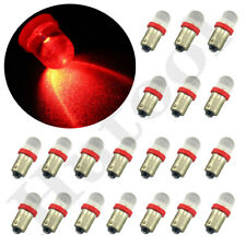20X Red BA9s 1816 1445 Bayonet Interior Dome Map Light Bulbs 4W Q65B H6W 53 57