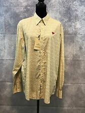 NWT $120 Tommy Bahama mens  Long Sleeve button down Shirt 100% cotton SZ L