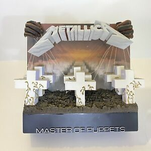 """Mcfarlane Toys Metallica """"Master Of Puppets"""" 3-D Album Cover"""