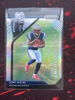 SONY MICHEL 2018 Prizm Rookie Introductions Silver SP Refractor Patriots RC
