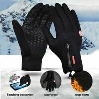 Winter Windproof Waterproof Anti-slip Thermal Touch Screen Gloves Ladies Mens