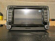 VW RNS-510 Navigation Radio RNS510 Head Unit 3C0035684N GPS MK5 MK6 V11 Maps SSD
