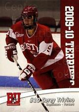 2009-10 Boston University Terriers #9 Corey Trivino