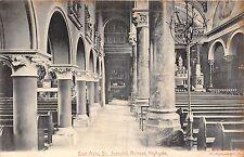 POSTCARD   LONDON   HIGHGATE    St  Joseph's  Retreat  East  Aisle
