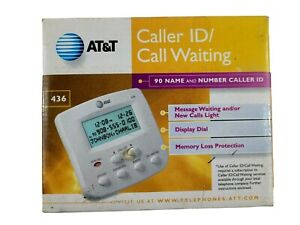 AT&T Caller ID Call Waiting Model 436 Number Caller ID Open Box