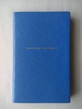 SMYTHSON PANAMA 'NOTTING HILLBILLY' NOTEBOOK in Nile Blue RRP £45.00 BN