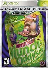 Oddworld: Munch's Oddysee (Xbox USA) Mint and New in Shrink Wrap, Not Y-Fold.
