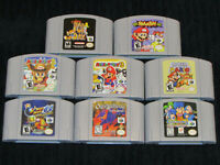 Brand New, Freshly Created N64 (Nintendo 64) Games - Excellent Condition!
