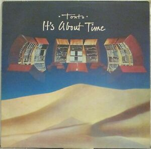 TONTO It's About Time LP The Original New Timbral Orchestra w/ Moog – UK press