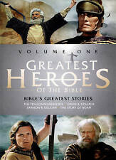 Greatest Heroes of the Bible, Vol. 1 (DVD, 2015) CASE IS NEW