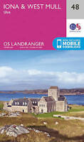 Iona & West Mull, Ulva by Ordnance Survey (Sheet map, folded book, 2016)