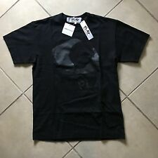 COMME DES GARÇONS PLAY CDG EYE T SHIRT BLACK SIZE LARGE NEW WITH TAGS