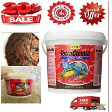 New listing Tetra TetraCichlid Balanced Diet Flakes Food for Cichlids New , Free Shipping