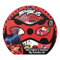MIRACULOUS Children's My Activity Set with 75pc Creative Accessories Set