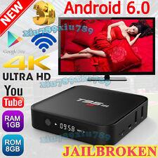 2017 Hot S905X 4K 8G T95M Smart TV Box Android 6.0 Quad Core Free Online Movies