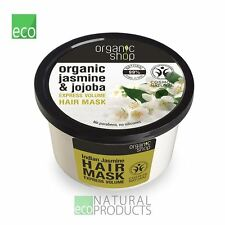 Organic Shop Hair Mask  Express Volume Jasmin and Jojoba 250ml