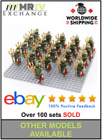 21 Minifigures Atlantis Squid Warriror Army Kids Toys - Block Custom UK