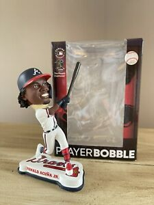 "RONALD ACUNA JR. Atlanta Braves MLB Team Shop EXCLUSIVE 4"" Bobblehead #/144 NIB!"