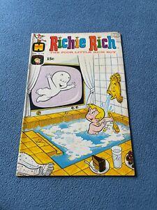 HARVEY Comic RICHIE RICH The Poor Little Rich Boy #106 June 1971