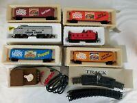 Vintage BACHMANN Gaines Gravy Train HO Scale Electric Power 5 car + Engine Set