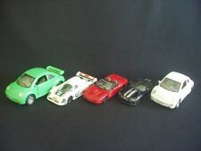 COLLECTION/JOB LOT OF 5 DIECAST & PLASTIC VEHICLES ~BURAGO, CORGI, SAICO