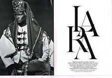 PUBLICITE ADVERTISING 2009 LARA STONE  ( 14 pages) par STEVEN KLEIN
