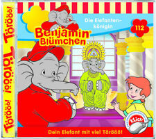 Benjamin Blümchen - Folge 112 - Die Elefantenkönigin - Hörspiel - CD - NEU