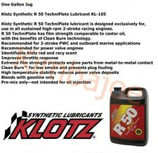 One Gallon Jug Klotz Synthetic R 50 TechniPlate Lubricant KL-105