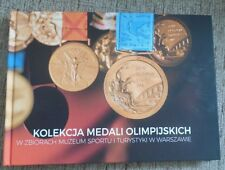 ALBUM BOOK POLAND WARSAW MUSEUM COLLECTION OLYMPIC MEDALS ENGLISH POLISH LANGUE