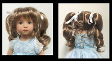 """Monique Doll Wig """"Darling"""" Size 5/6 - GINGER BROWN Synthetic Mohair NEW!"""