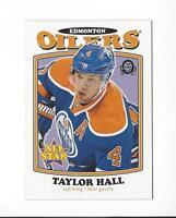 2016-17 O-Pee-Chee Retro #200 Taylor Hall Oilers