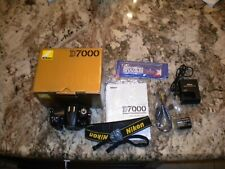 Nikon D7000 Camera with Box & Accessories