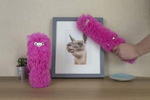 Gift Republic Llama Duster Desktop Cleaning Pet, Multi-Colour