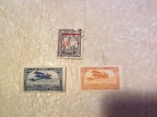 RARE SYRIA FRANCE RED SURCHRGE 1921 French MAROC UNC 1929 5 & 25 C lot Free ship