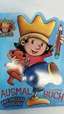Der kleine König Malbuch Stickerheft Malen und Kleben