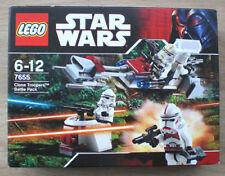 LEGO ® Star Wars 7655 Clone policiers battle pack neuf speederbike 2007 BATTLEFRONT