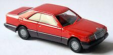 Mercedes Benz Clase E 300 Ce Coupé C124 Facelift 1989-93 Rojo Brillante 1:87