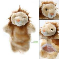Kids Cute Lion Animal Hand Puppets Plush Cloth Doll Development Baby Hands Toy