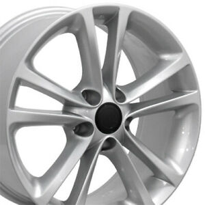 "17"" Rim Fits Volkswagen VW CC VW19 Silver Hollander 69888 17x8 Wheel"