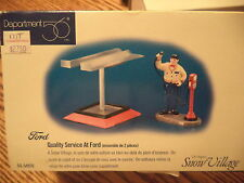 Dept 56 1998 Snow Village Quality Service At Ford #54970 Never Displayed