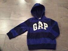 Baby Gap Hooded Zip Long Sleeve Fleece Jacket 2 Yrs New With Tags Cost £19.95
