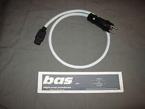 Supra lorad 2.5 MkII  Netzkabel 1m (Bachmann / NEW Bals 7372 ) BAS Mk 3