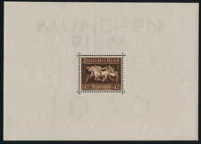 Germany B90 sheet MNH Horse Race