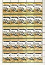 1954 RR Beyer Garratt Class 20 Rhodesia Train 50-Stamp Sheet / LOCO 100 LOTW