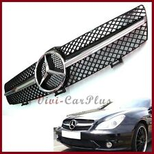 M-Benz 04-08 W219 CLS350 CLS63AMG CLS550 Front Grille Chrome Black SLS Look Hood